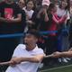 #用表情征服对手# 鲁美老师在比赛中用表情包智胜对手。