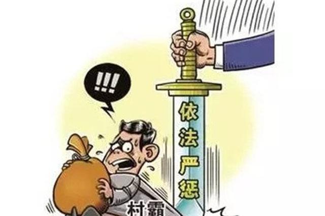 辽宁鞍山查处村霸和宗族恶势力案20余件