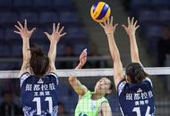 辽宁女排3-1战胜卫冕冠军江苏