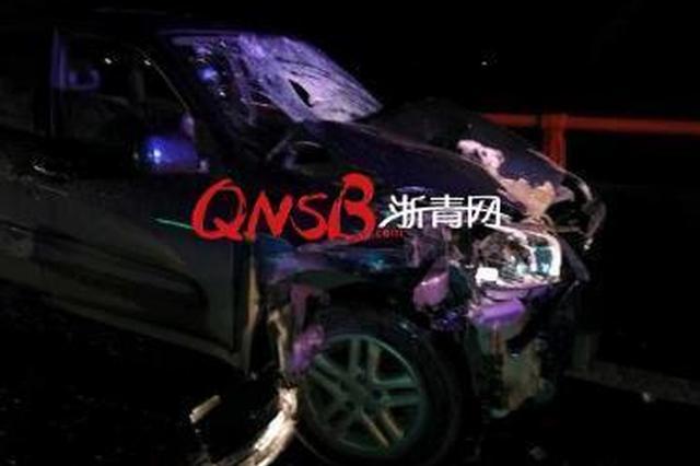 男子酒后驾车撞死一人 顶着另一人高速狂奔