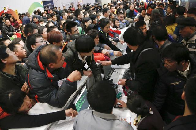 沈阳大雪致地铁客流量增加20.6% 铁路旅客增3.6万人