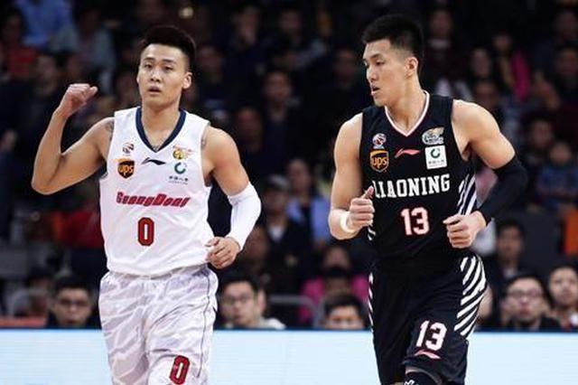 辽粤半决赛对决堪称国家队内战 共有10名现役国手