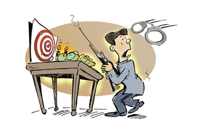 沈阳警方抓获一名非法组装枪支犯罪嫌疑人