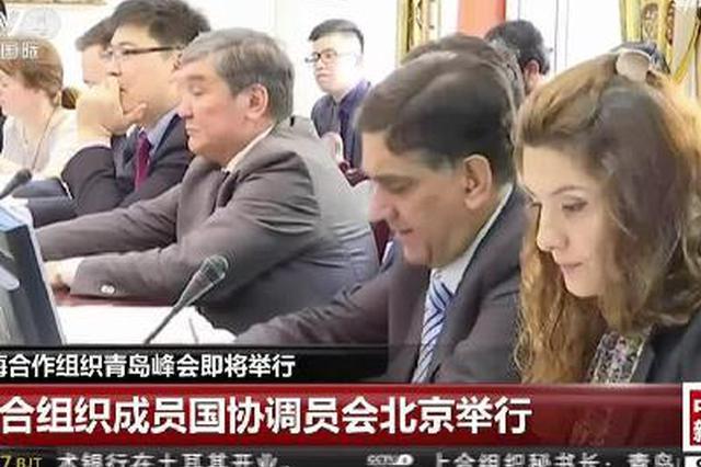 上海合作组织青岛峰会即将举行:上合组织成员国协调员会北京