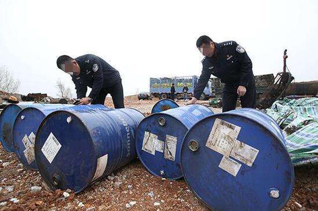 阜新警方侦破近年来全国最大跨区域全链条涉油案
