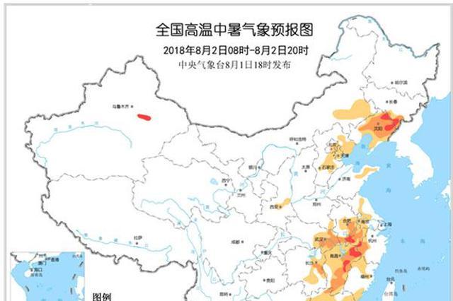 高温中暑气象预报:辽宁等5省极易发生中暑