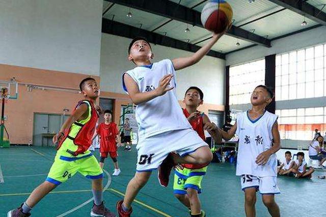 2018年中国小篮球联赛东北大区训练营开幕