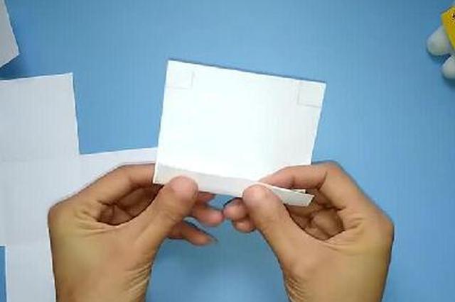 表白神器爆炸盒子折纸 满满的都是爱手工diy教程