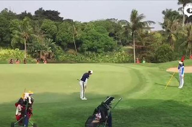亚运会女子高尔夫赛菲律宾球员萨索夺得金牌