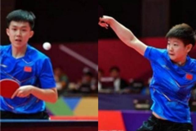 乒乓球锦标赛:王楚钦/孙颖莎加冕混双冠军