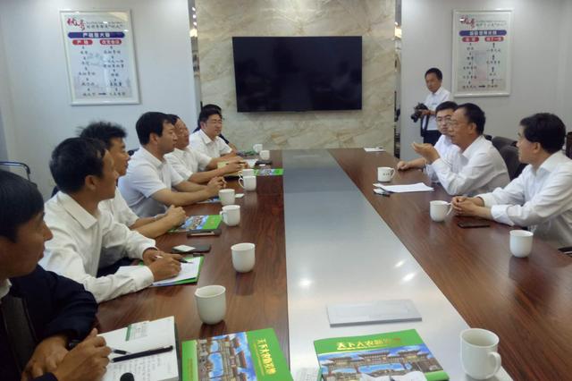 朝阳县携手北京新发地集团推进县域产业振兴发展——第一书记