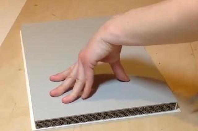 纸壳变实木气质小书架 这技能连专业木匠都羡慕