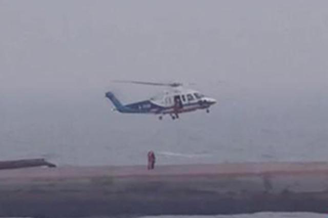 遼寧綏中海域運砂船事故失聯人員中又有1人獲救
