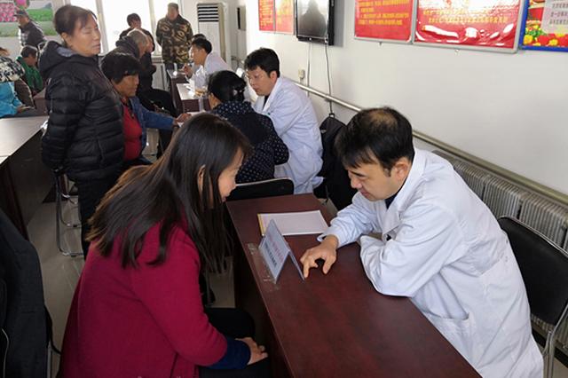 中国医大一院专家团赴新民市兴隆堡镇三喇嘛村开展义诊帮扶活
