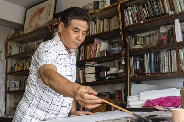 吕丙霄:笔墨里的信仰人生