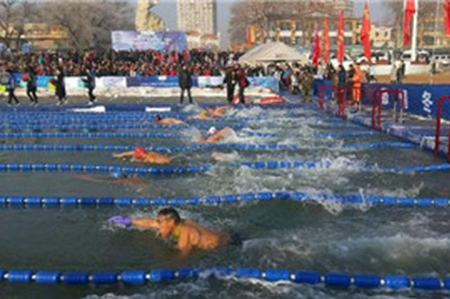"""""""中国·兴城海峡杯""""国际冬泳邀请赛落幕"""