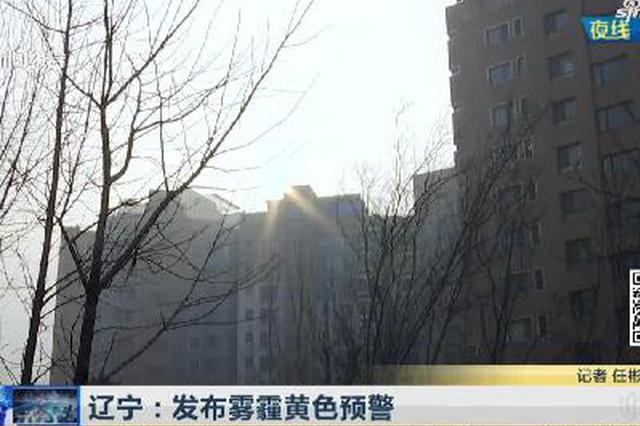 《新闻夜线》辽宁:发布雾霾黄色预警