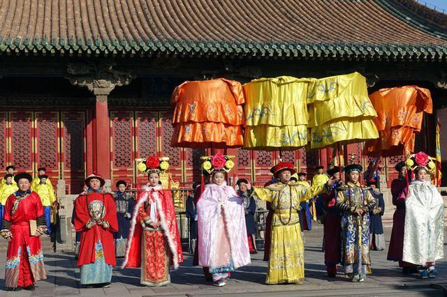 沈阳《皇宫过大年》 再现清朝盛京春节场景