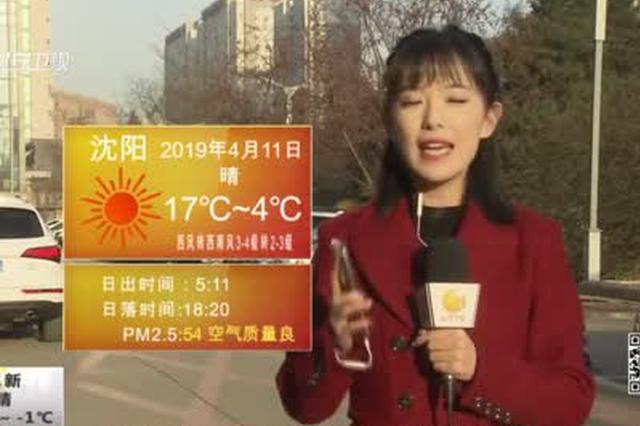 辽宁:今日全省再升温 南风拂面各地最高温15-19℃