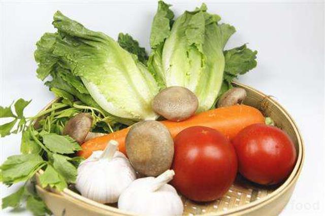 国民蔬果摄入量不足 专家建议每天吃一斤蔬菜半斤水果