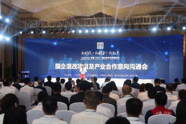 辽宁国企混改提速 今年已推出94个混改项目