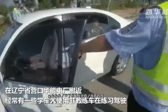 营口:上路练车说道不少 违法练车将被罚款甚至拘留