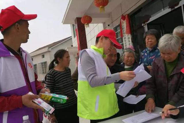 沈阳:医生志愿者进村义诊 有病不用硬挺了