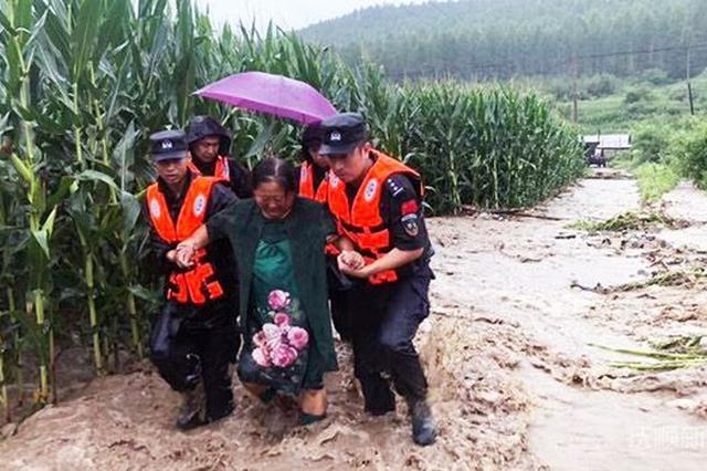 辽宁新宾抗洪救灾见闻:宁可听骂声 也不能听到百姓哭声