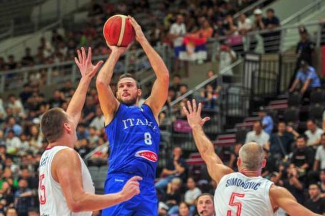 2019沈阳国际男篮超级争霸赛:塞尔维亚夺冠