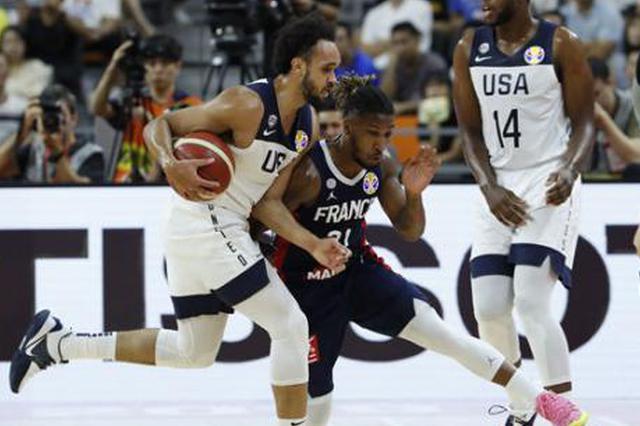 爆冷出局!美国男篮不敌法国止步世界杯八强