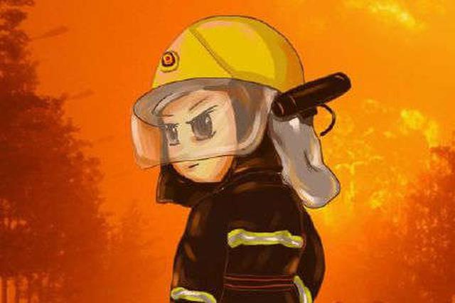 3岁女童悬空卡进婴儿床 消防员边哄孩子边施救