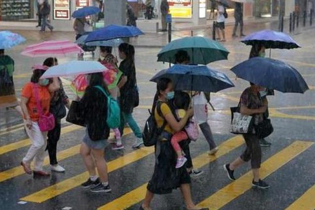 新一周阴雨持续 最高温难升回30℃以上