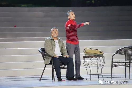 宋国锋、巩汉林表演短剧《祝福》