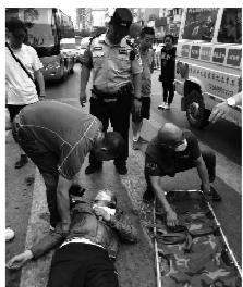 本溪男子离家出走 横穿马路被车撞倒司机正是找他的妹夫