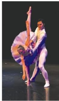 《中外芭蕾精品晚会》演出照