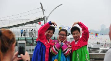 辽宁丹东边境游成热点