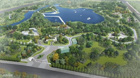面积超过劳动公园 中铁北方投资建设沈阳西部最大生态公园