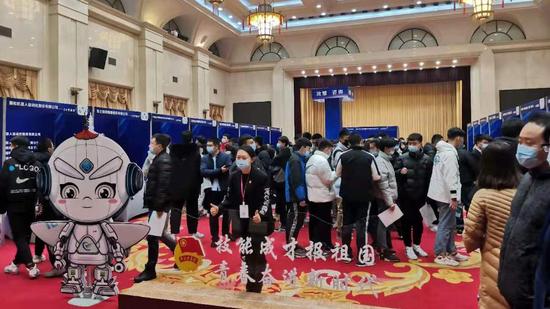 沈阳举办全国青年高技能人才招聘会