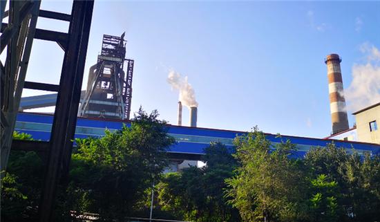 鞍山钢铁集团有限公司的绿色厂区