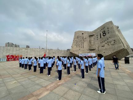 """沈阳""""九·一八""""历史博物馆举行纪念全民族抗战爆发83周年主"""