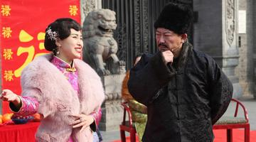 沈阳:大帅府上演霸气过春节