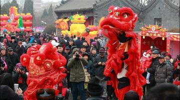 辽宁锦州多彩民俗活动贺新春