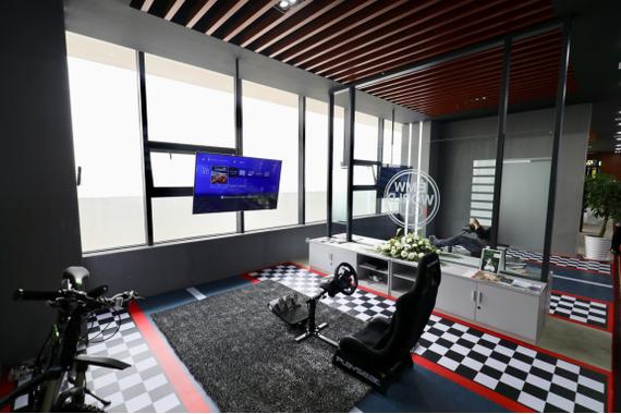模拟驾驶体验区