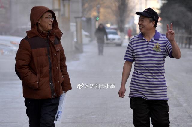 沈阳六旬男子零下二十多度穿半袖上班:20年不曾感冒