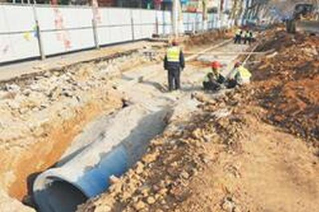 沈阳银山路将局部禁行机动车 保证雨水管道建设工期