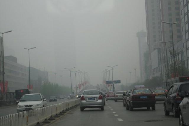沈城突起大雾:全省高速公路封闭 机场航班全部取消