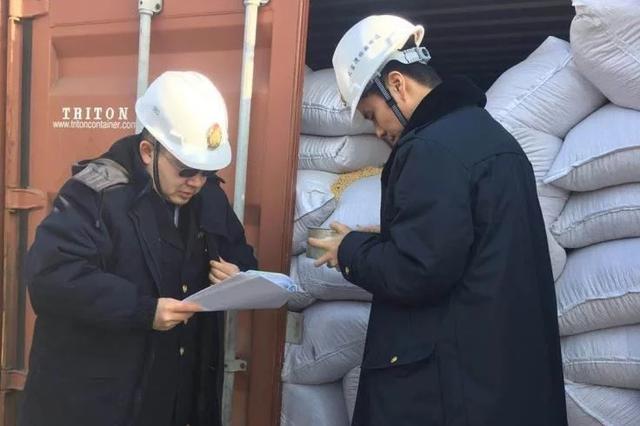 辽宁大窑湾口岸迎来首批国际中转俄罗斯大豆
