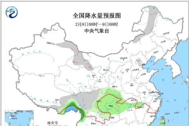 冷空气将影响中东部地区 东北等局地降温可达10℃