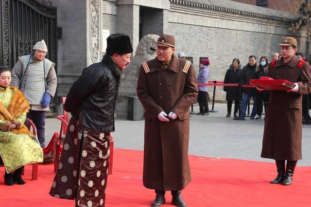 沈阳:大帅府上演霸气过春节 看东北王如何戏耍鬼子