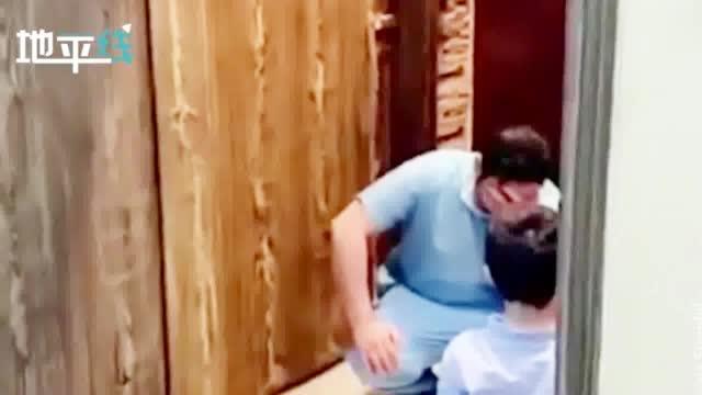 泪目!沙特男护士担心传染孩子拒绝与其拥抱 下一刻泪流满面